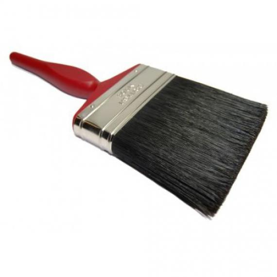 4 Quot Pure Paint Bristle Brush With Red Handle P106 Paint
