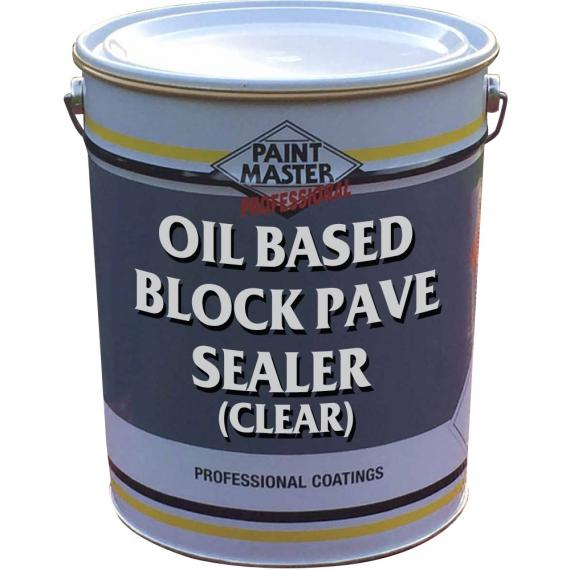 Clear Oil Based Block Paving Sealer Patio Amp Driveway