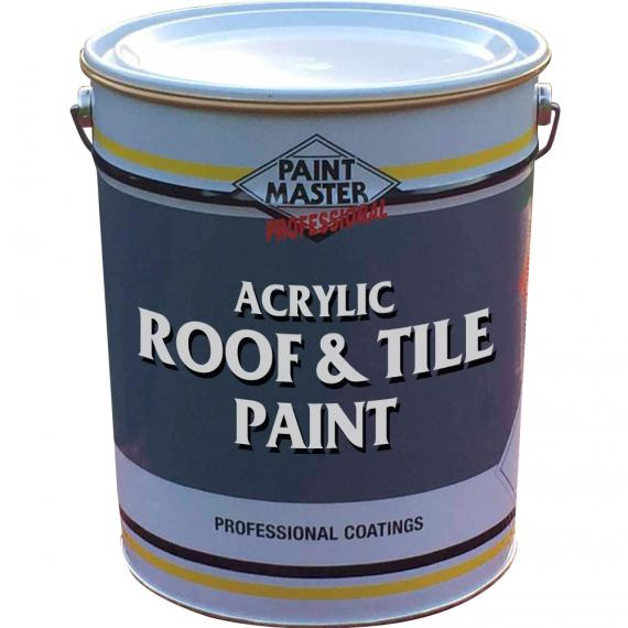Acrylic Roof Amp Tile Paint Waterproof Heavy Duty Exterior