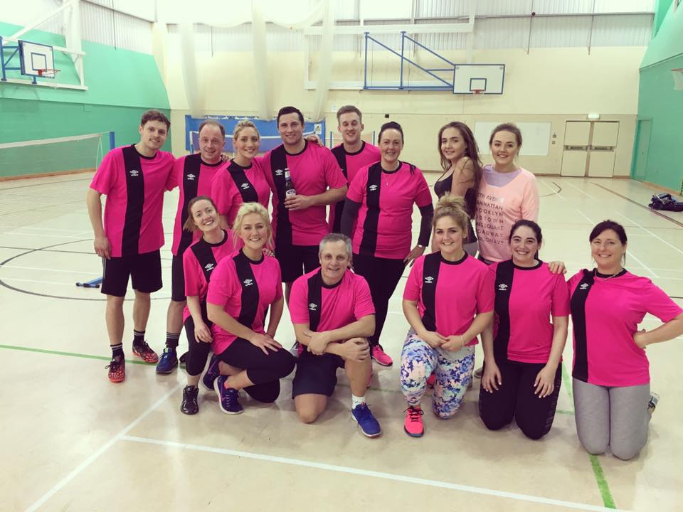 Paintmaster AllStars - Start of our Mixed Sports League
