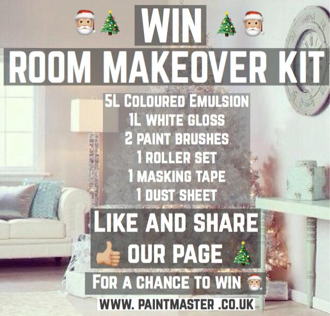 WIN a Room Makeover Kit - Christmas Special