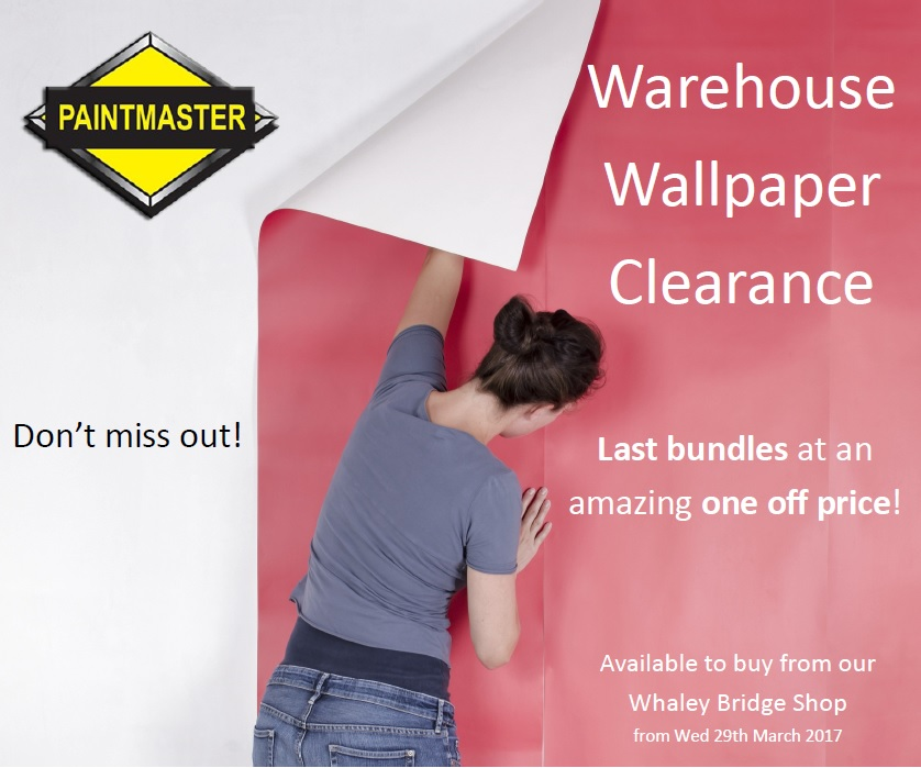 Warehouse Wallpaper Clearance