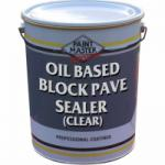 Oil Based Block Paving Sealer (Clear)