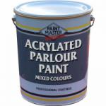 Acrylated Parlour Paint - Mixed Colours