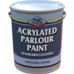 Acrylated Parlour Paint - Standard Colours