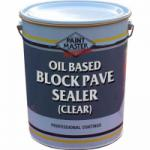 Oil Based Block Pave Sealer (Clear)