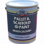 Pallet & Scaffold ID Paint - Mixed Colours - 20 Litres