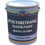 Polyurethane Floor Paint - Mixed Colours