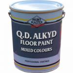Q.D Alkyd Floor Paint - Mixed Colours