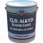 Q.D Alkyd Floor Paint - Standard BRIGHT Colours